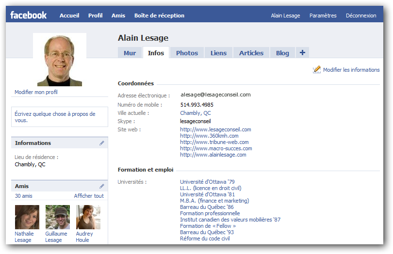 Facebook-profil-Alain-Lesage